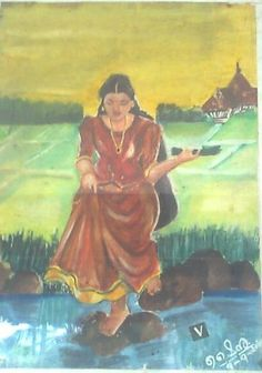 village Girl (shynu ponnariyan)