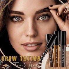 X Tattoo, Eyebrow Makeup Tips, Beauty Makeup, Eyebrow Tinting, Eyebrow Serum, Beauty Tips, Beauty Hacks, Semi Permanente, Brow Color