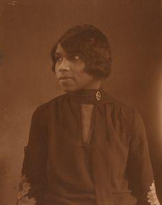 Marian Anderson, ca. 1922 Ardmore, Pennsylvania Photographer: Frank W. Harris, Jr.