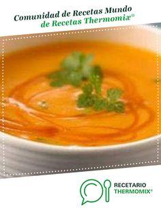 Pure de Zanahoria por lregmas. La receta de Thermomix<sup>®</sup> se encuentra en la categoría Sopas y cremas en www.recetario.es, de Thermomix<sup>®</sup> Fajardo, Thai Red Curry, Ethnic Recipes, Food, Carrot Cream, Carrots, Legumes, Essen, Meals