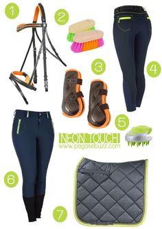 www.pegasebuzz.com | Equestrian Fashion : Neon touch