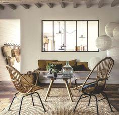 Les murs en briques | Salons, Living rooms and Interiors