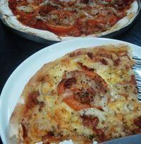 Hoje é dia de Pizza! (Sem Glúten, sem leite e sem ovos, claro!)