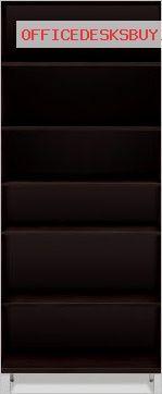 Jesper 500 Collection Professional 5 Shelf High Bookcase - Espresso - http://officedesksbuy.com/jesper-500-collection-professional-5-shelf-high-bookcase-espresso.html