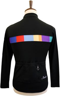 £99.00 Signature LS Jersey Black  Setting a new standard in Luxury cycling clothing, handmade in Britain