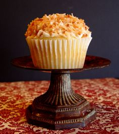 Coconut Cream Cupcakes from Jamie Cooks It Up!