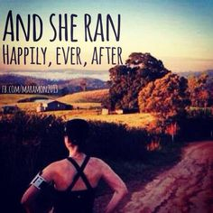 running ever after.