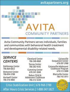Avita Community Partners serves individuals, families and communities with behavioral heal... | Avita Community Partners - Cumming, GA #georgia #HartwellGA #shoplocal #localGA