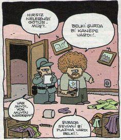 Bob rose paint turkey police Karikatür komedi dram