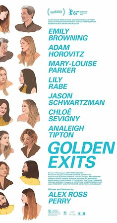 Directed by Alex Ross Perry. With Emily Browning, Adam Horovitz, Mary-Louise Parker, Lily Rabe. An intersectional narrative of two families in Brooklyn and the unraveling of unspoken unhappiness that occurs when a young foreign girl spending time abroad upsets the balance on both sides.