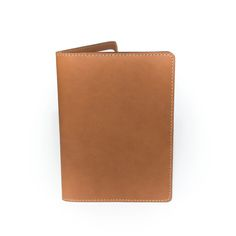 Navigator Note & Passport Wallet - London Tan — Leather Works Minnesota