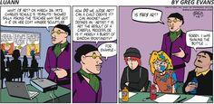 #Peanuts in the classroom!   Read Luann #comics @ www.gocomics.com/luann/2015/04/12?utm_source=pinterest&utm_medium=socialmarketing&utm_campaign=social-pin-crossover-peanuts65   #GoComics #webcomic
