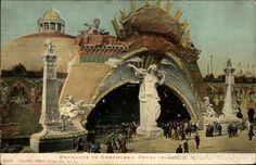 Coney Island- Entrance to Dreamland Park