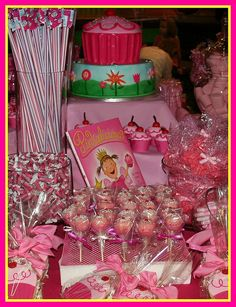 Pinkalicious Party Buffet