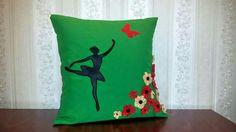 Handmade pillow...by https://m.facebook.com/happypillowshandmade/