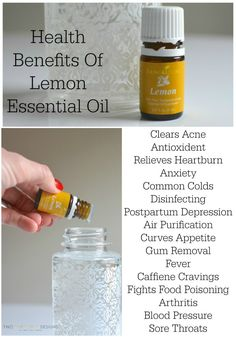 Lemon Essential Oil Uses by Two Thirty~Five Designs