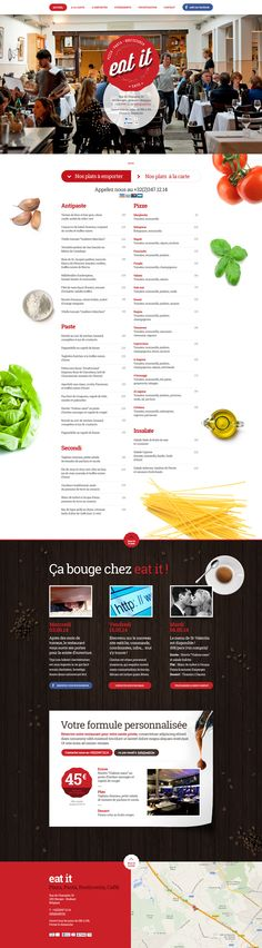 Eat it Restaurant on Behance