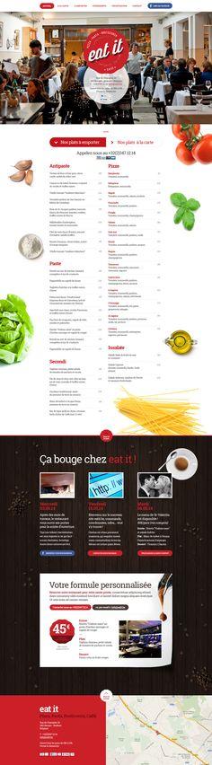 Eat it Restaurant on Behance