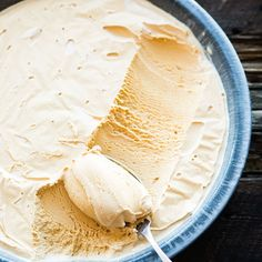 When sugar caramelizes, its flavor becomes less sweet and more complex, like in this salted caramel ice cream recipe. A bit of salt gives it more impact.