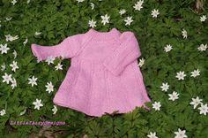 HANDMADE Knitted Baby DressBaby knit dress by Littlefairydesigns