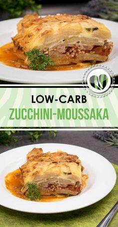 Die Zucchini-Moussaka mit Kohlrabi ist low-carb und glutenfrei und zu dem auch noch super lecker.