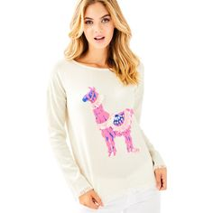 Lilly Pulitzer Lilly Pulitzer Fairfax Cashmere Sweater (445 ILS) ❤ liked on Polyvore featuring tops, sweaters, intarsia sweater, beach sweater, boat neck tops, boatneck sweater and sweater pullover
