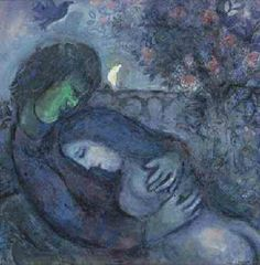Lovers by Marc Chagall