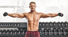 The Best Shoulders Workout to Pump Up Your Traps and Delts Shoulder Workout, Upper Body, Routine, Pumps, Exercise, Muscles, Workouts, Warm, Ejercicio