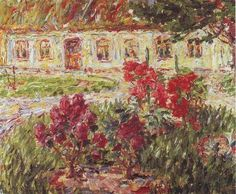 Emil Nolde, Hunting Lodge At... ? on ArtStack #emil-nolde #art