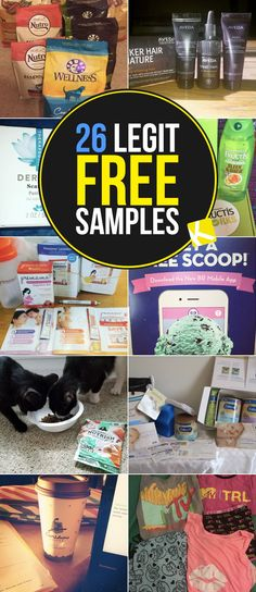 24 Legit Brands That Are Mailing Out Free Samples 26 Legit Brands That Are Mailing Out Free Samples Free Samples By Mail, Free Stuff By Mail, Get Free Stuff, Free Baby Stuff, Free Coupons By Mail, Ways To Save Money, Money Saving Tips, How To Make Money, How To Get