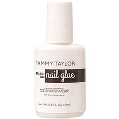 Tammy Taylor Brush On Nail Glue Oz Blends With The Natural For Seamless Tip Lication And Repair