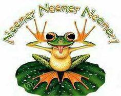 Frog neener