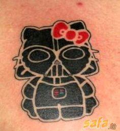 Creative Hello Kitty Tattoos