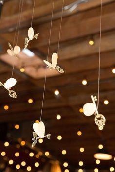 Winged Keys from a Harry Potter Birthday Party via Kara's Party Ideas…