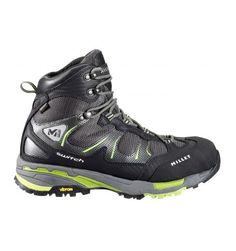 Lady Switch Gore-Tex  Millet women shoes for fast hiking.  Women's new-generation fast-hiking boot for sport walking in the mountains and rapid elevation change on Alpine terrain. Technical construction provides dynamic foot-roll, shock absorption, comfort, lightness and protection.
