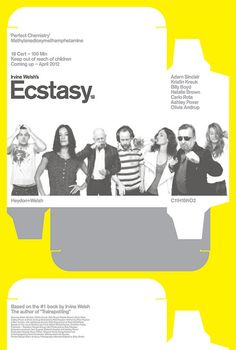 Ecstasy US 1 sheet - [B style] Design Blam at Neue