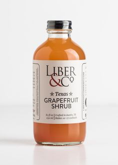 Texas Grapefruit Shrub is the secret you've been searching for to make zesty citrus cocktails. This sweet-but-tart concoction is a great substitute when your recipes call for simple syrup, agave nectar, or any other sweetened citrus juice.