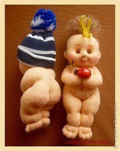 Куклы, Мастер-класс Шитьё: Пупс из лоскутка. Мой мастер класс.  Ткань. Фото 1