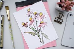 #art #watercolor #watercolorflowers #design #instagramphotography #branddesign #websitedesign Watercolor Flowers, Design Projects, Art, Art Background, Flower Watercolor, Kunst, Gcse Art, Art Education Resources, Artworks