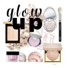 """""""Glow Gurl"""" by indiemess1 ❤ liked on Polyvore featuring beauty, NARS Cosmetics, Yves Saint Laurent, Stila, Givenchy, Too Faced Cosmetics and ZOEVA"""