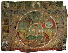 s XII - Tapis de la Creació. Catedral de Girona