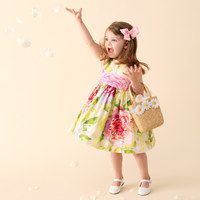 Plum Pudding Easter Dress