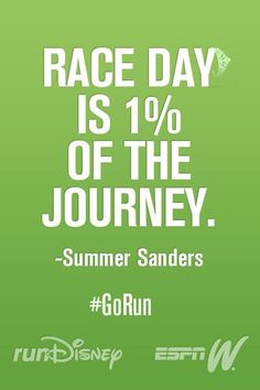 The other 99% occurs on the road to the marathon.