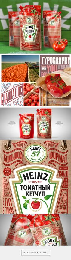 Heinz томатный кетчуп в дизайне от Depot WPF love this innovative pouch with awesome typography #packaging curated by Packaging Diva PD created via http://thebestpackaging.ru/2013/11/heinz-tomatnyiy-ketchup-v-dizayne-ot-depot-wpf.html