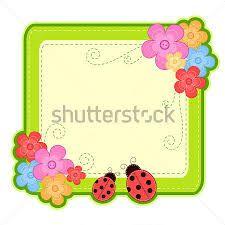 Resultado de imagen para marcos de flores y mariposas para tarjetas