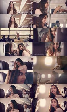 Deepika Padukone for Vistara's television commercial