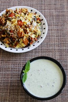 Mint raita recipe (Pudina raita) flavorful, refreshing and cooling raita recipe made from yogurt, mint leaves. Perfect raita recipe for summer
