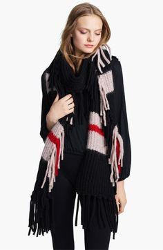 Sonia Rykiel Fringe Scarf available at #Nordstrom