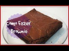 RECEITA FÁCIL DE BROWNIE. COMO FAZER - YouTube