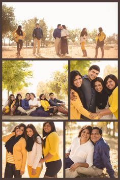 Fall Family Portraits using mustard yellow, navy blue, brown and creme colored attire Navy Family Pictures, Fall Family Picture Outfits, Family Pictures What To Wear, Family Photo Colors, Fall Pictures, Fall Pics, Large Family Portraits, Large Family Photos, Beach Family Photos
